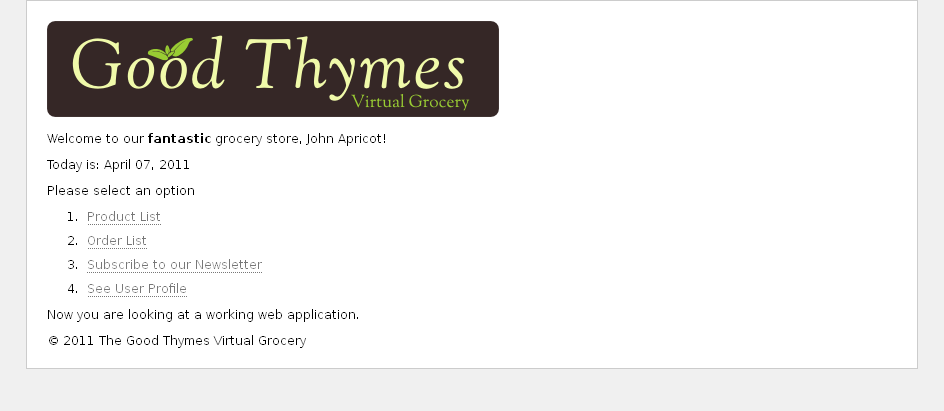 Tutorial: Using Thymeleaf